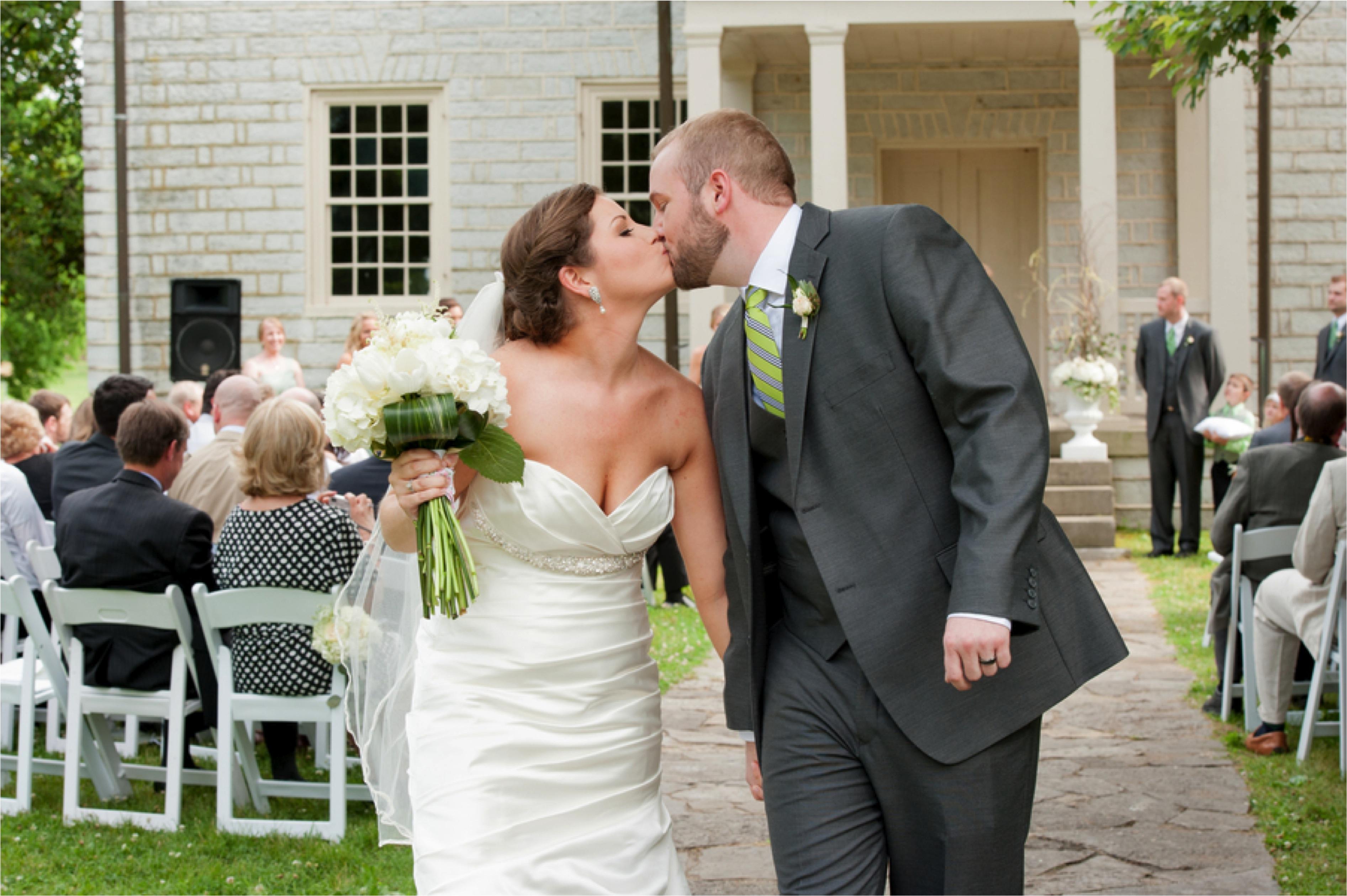 Timeless Green & White Tennessee Wedding via TheELD.com