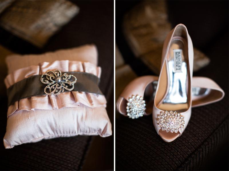 Modern & Elegant Pink Texas Wedding via TheELD.com