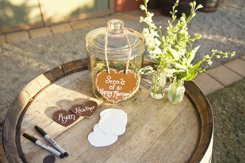 Rustic Handmade California Wedding  via TheELD.com