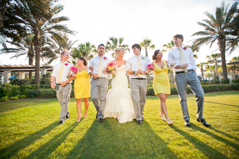 Pink, Aqua & Yellow Wedding By Flaire Weddings - Every Last Detail
