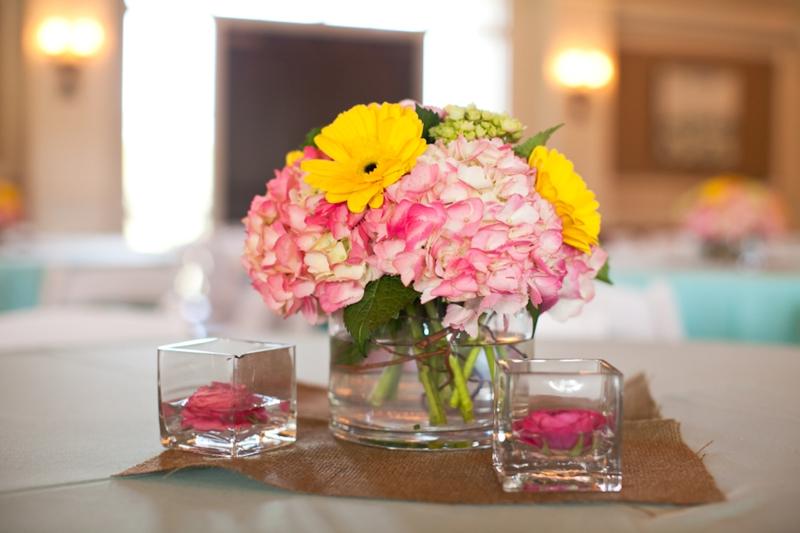 Pink aqua yellow wedding by flaire weddings every last detail pink aqua yellow wedding by flaire weddings via theeld mightylinksfo