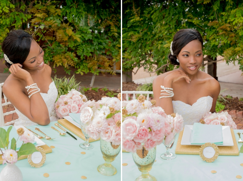 Pink, Mint & Gold Wedding Inspiration - Every Last Detail