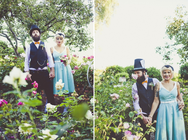 Eclectic Alice In Wonderland Wedding Inspiration - Every Last Detail