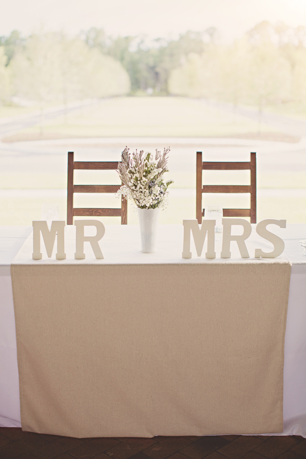 Detail To Love: Mr & Mrs Letters via TheELD.com