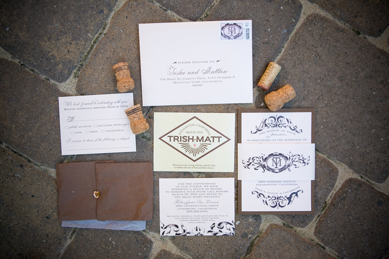 Rustic and Elegant Wine Inspired Wedding via TheELD.com