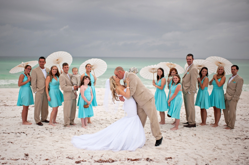Aqua Florida Beach Wedding - Every Last Detail