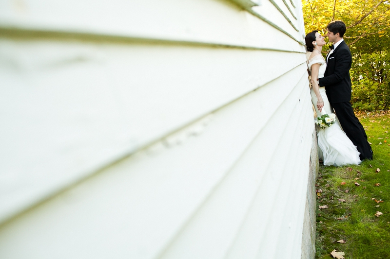 A French Inspired Maine Wedding via TheELD.com