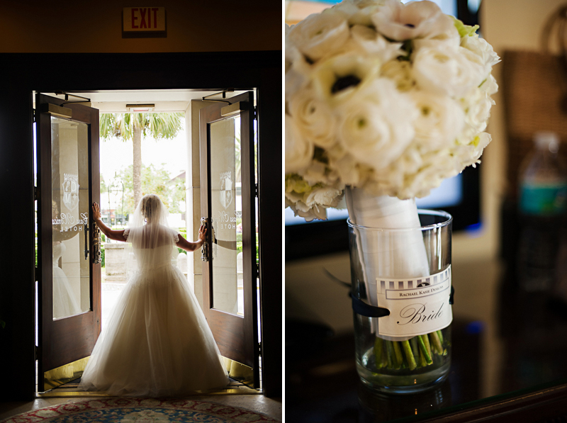 Purple and Blue Jewel Toned Florida Wedding via TheELD.com