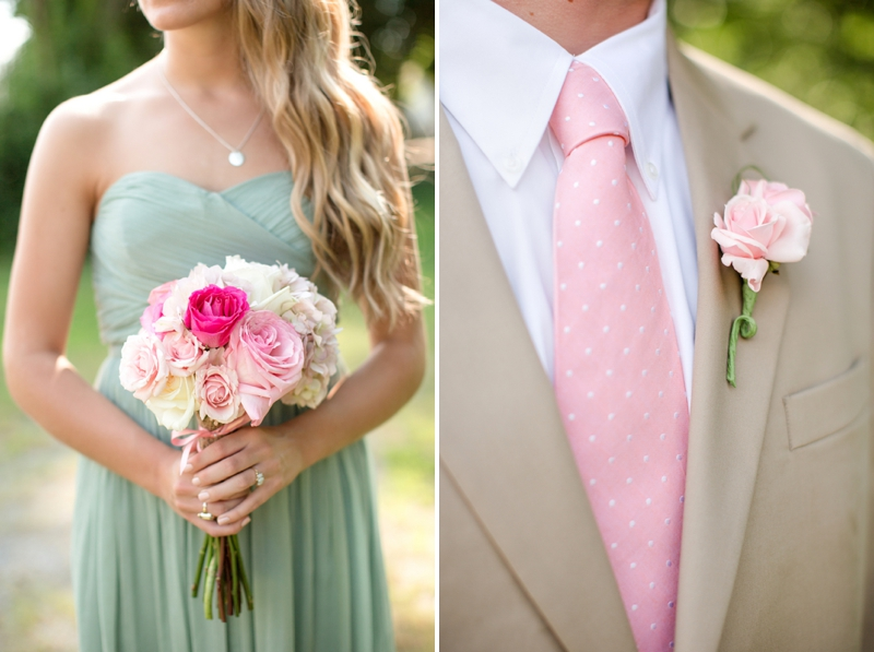 A Pink, Mint, and Burlap Wedding - Every Last Detail