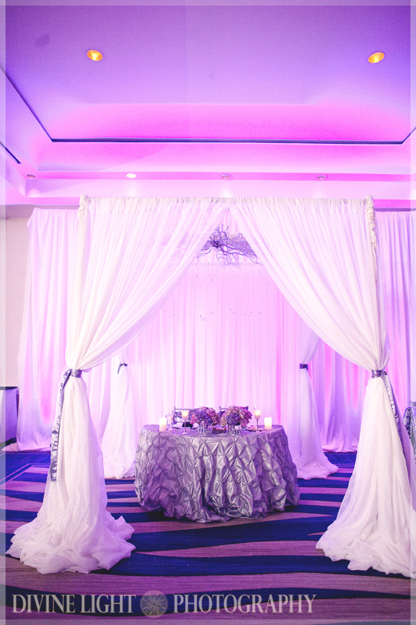 Detail To Love: Sweetheart Table Backdrops via TheELD.com