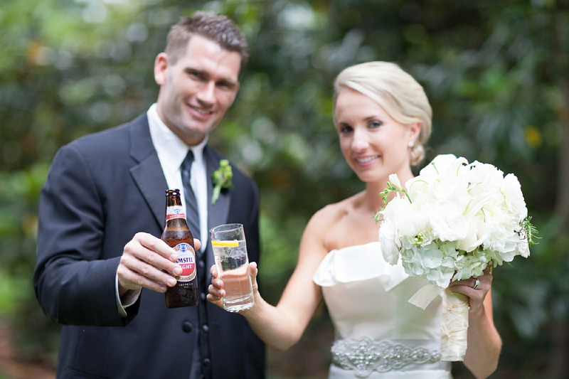 Classic North Carolina Garden Wedding via TheELD.com