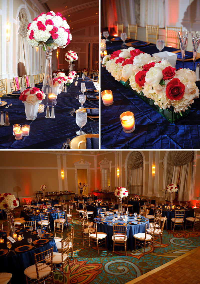 Classic Navy And Hot Pink Florida Wedding Every Last Detail