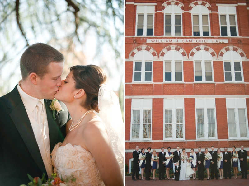 Classic December Alabama Wedding via TheELD.com