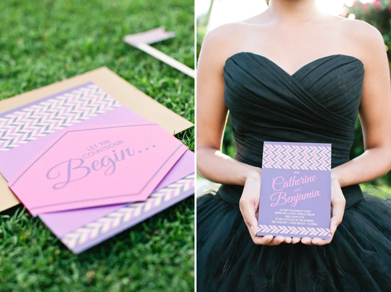 Colorful New Years Eve Wedding Inspiration via TheELD.com