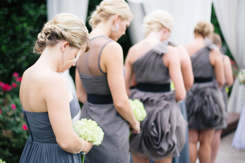 Romantic Gray, Green & White Oklahoma Wedding via TheELD.com
