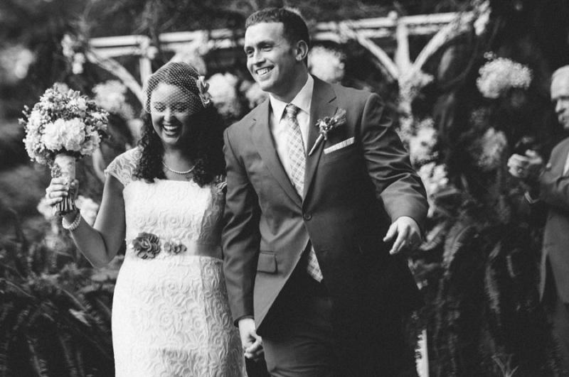 Handmade Blush & Burlap Tennessee Wedding via TheELD.com