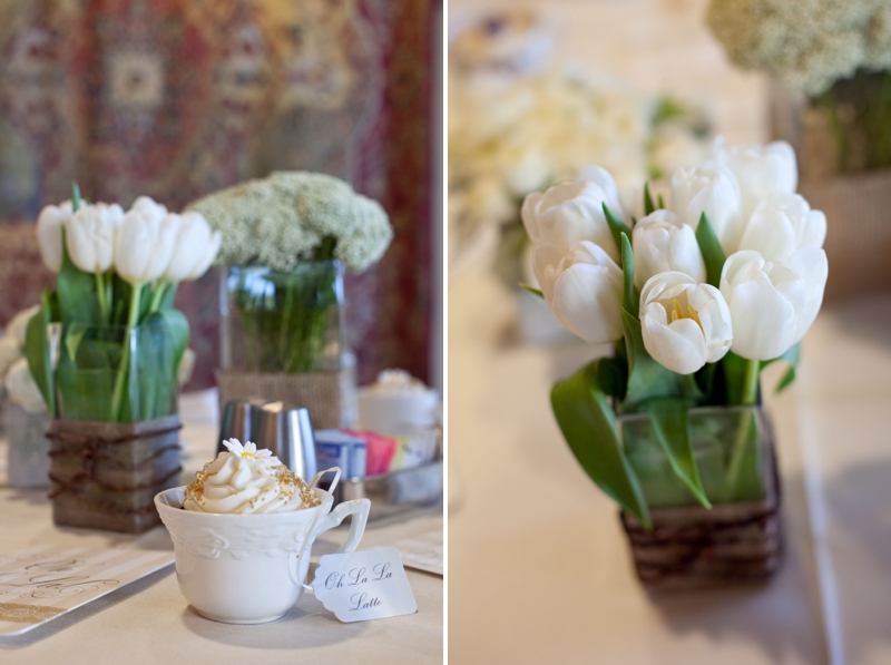 French Inspired Oh La La Bridal Shower via TheELD.com