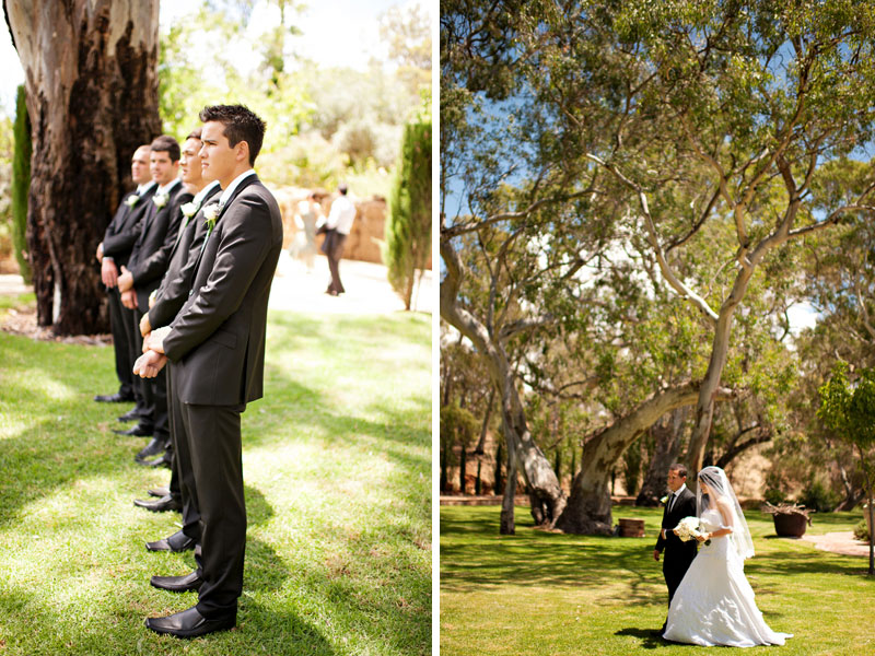 Rustic Elegant Australian Vineyard Wedding via TheELD.com
