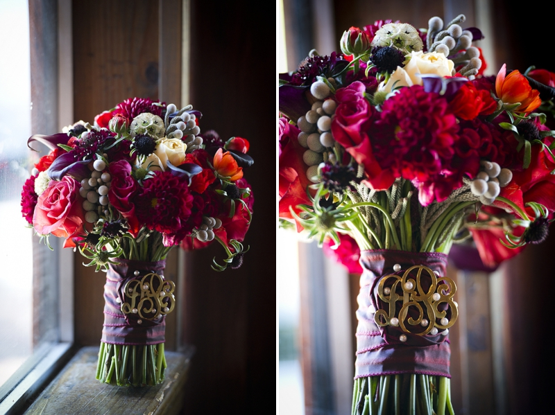 Modern Purple Red Winter Wedding Inspiration Every Last Detail
