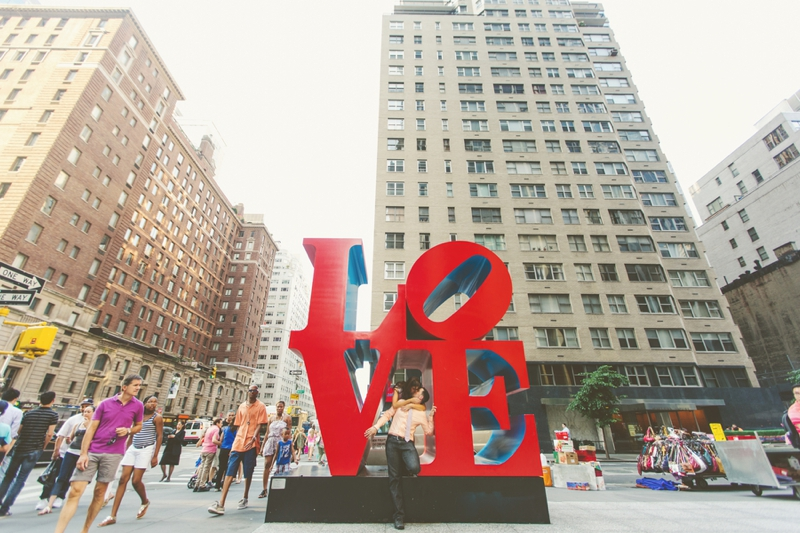 New York City Engagement Session via TheELD.com