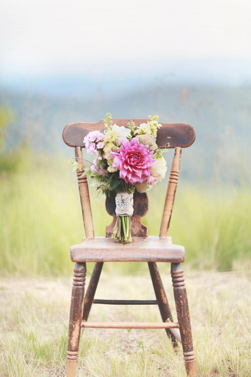 Pink Vintage Wedding Inspiration