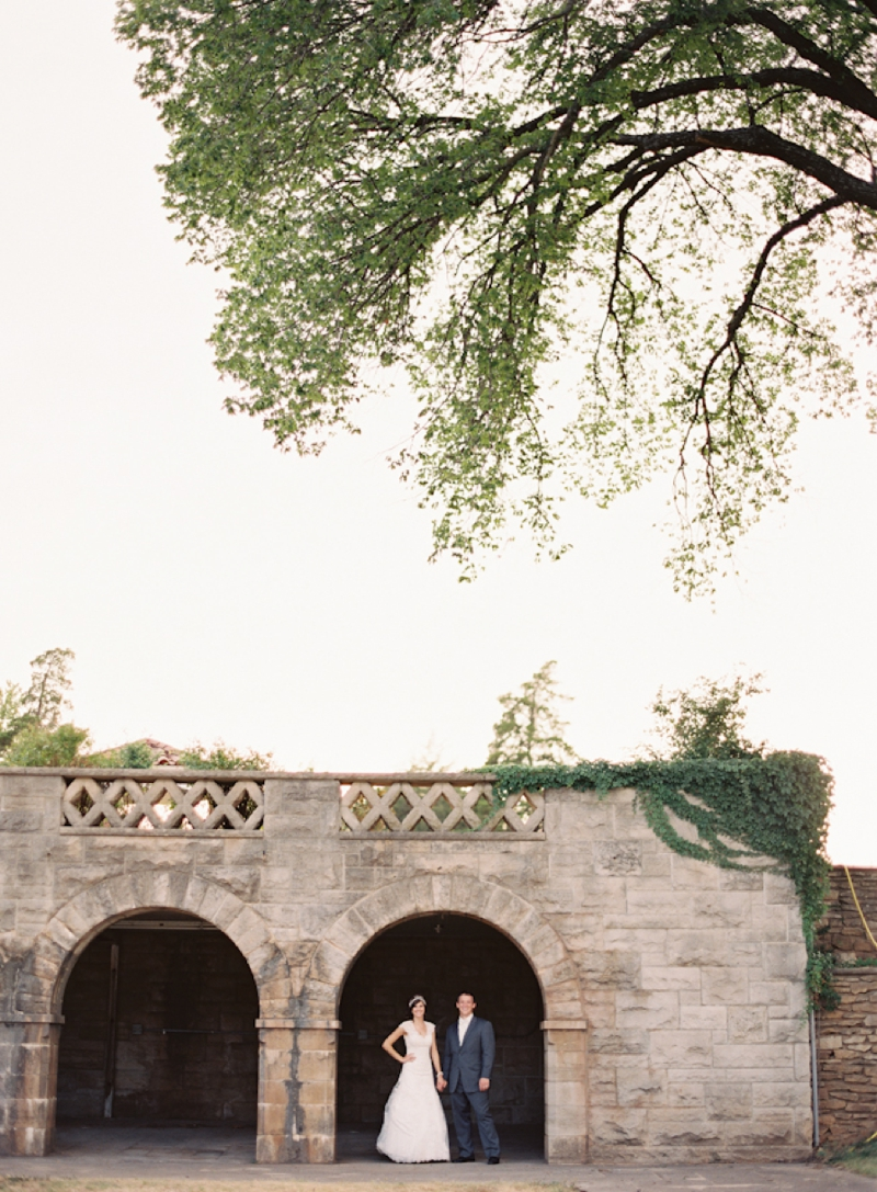 Vintage Blush Pink Oklahoma Wedding via TheELD.com
