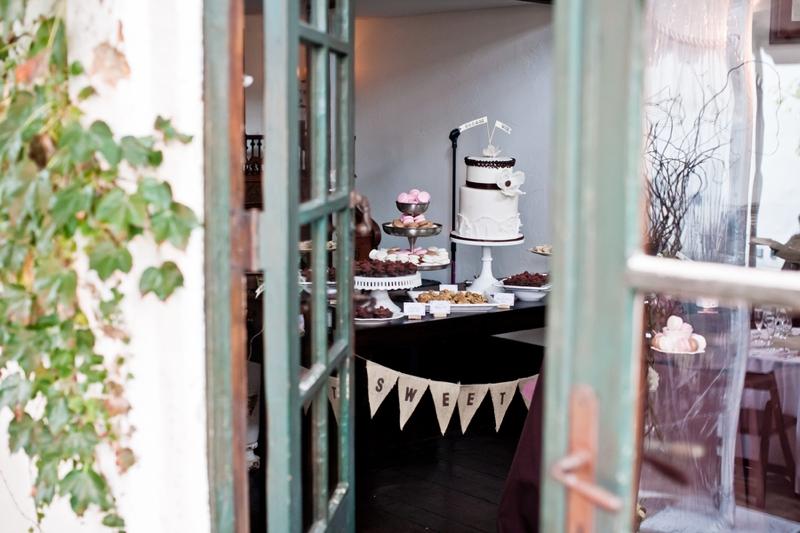 Pink Vintage Eclectic California Wedding via TheELD.com