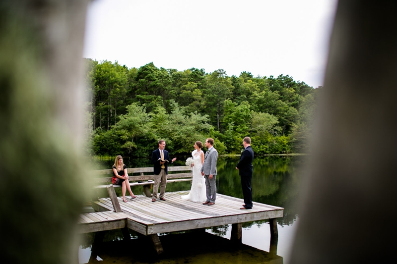Classic Cape Cod Backyard Wedding via TheELD.com