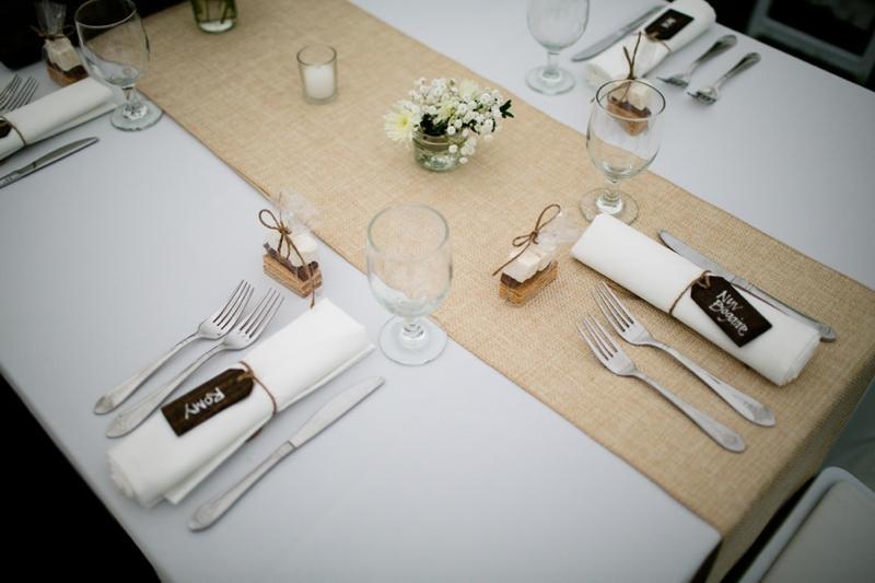 Classic Cape Cod Backyard Wedding via TheELD.com