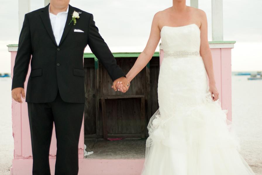 Eclectic Vintage Inspired Wedding Florida Wedding via TheELD.com