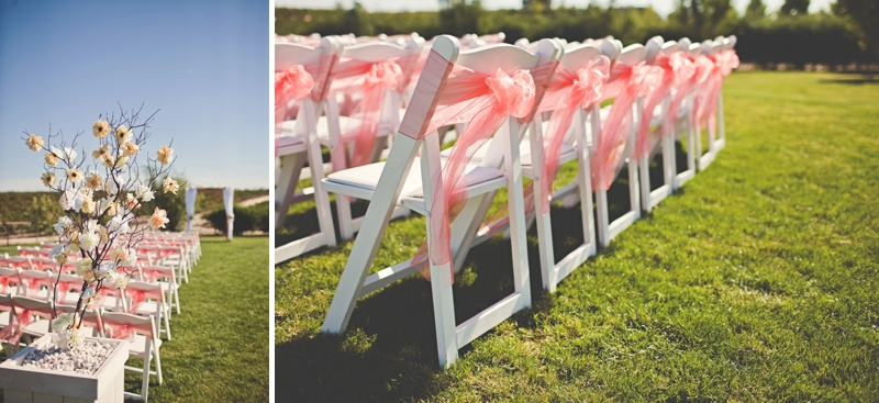 Romantic Coral San Miguel Winery Wedding Every Last Detail