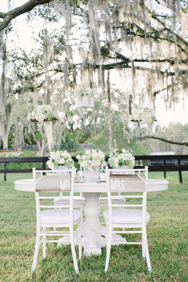 Rustic and Modern White Wedding Inspiration - Every Last Detail