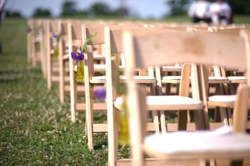 Lavender & Rustic North Carolina Wedding via TheELD.com