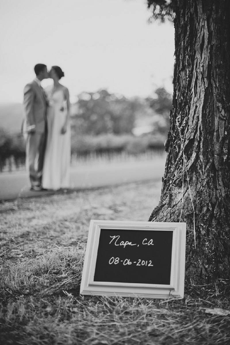 Rustic Pink & White Napa Valley Wedding via TheELD.com