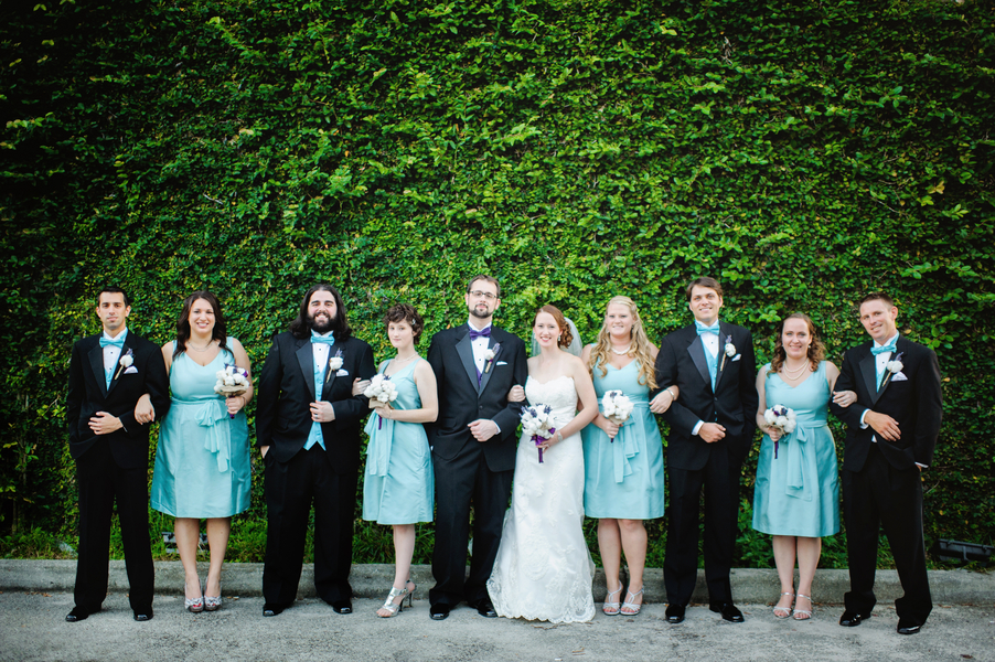 Purple and Aqua Vintage Southern Wedding - Every Last Detail