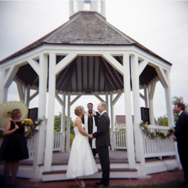 Byron Colby Barn Wedding: Eclectic Blue And Green DIY Illinos Wedding