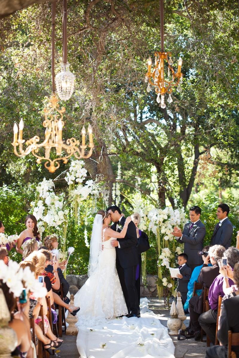 Glamorous Purple Rustic Wedding Every Last Detail