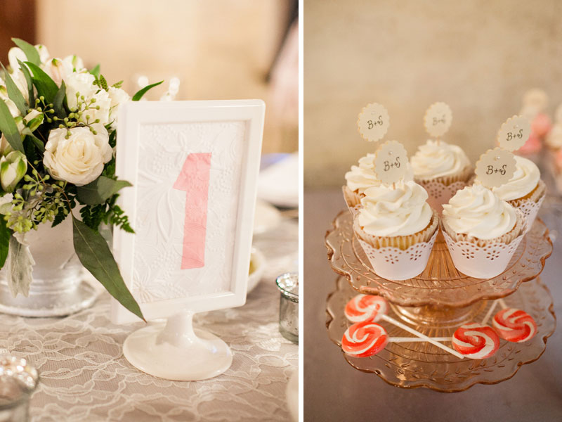 Vintage Elegant Pink and Gray Wedding via TheELD.com
