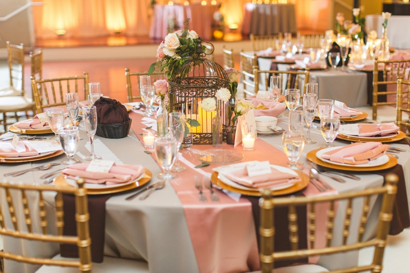 Romantic Blush Florida Wedding via TheELD.com
