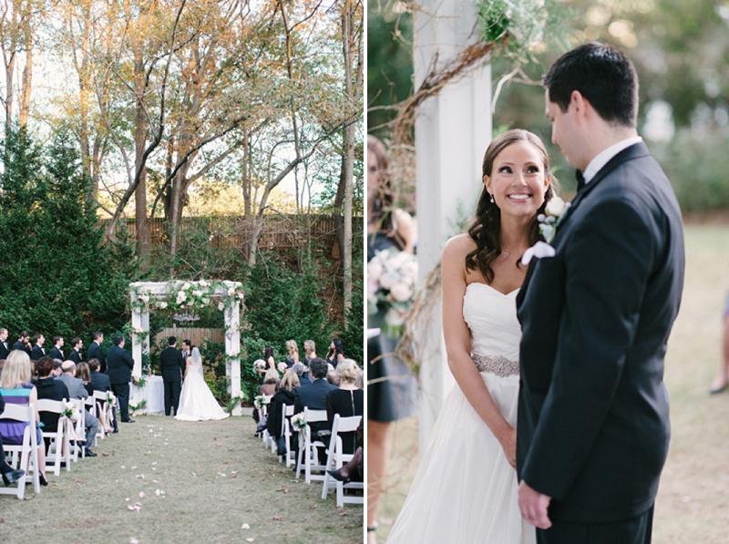 Classic Pink & Gray Georgia Wedding via TheELD.com