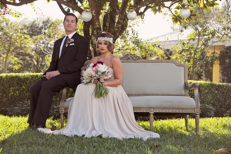 Vintage- Inspired Wedding 1920