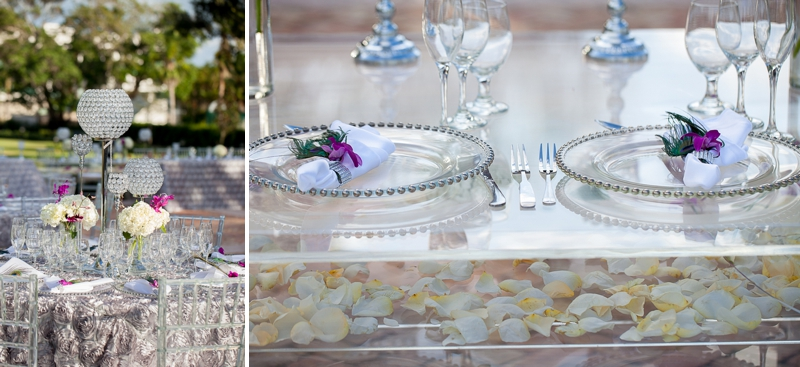 Modern Purple and Teal Florida Wedding - Every Last Detail