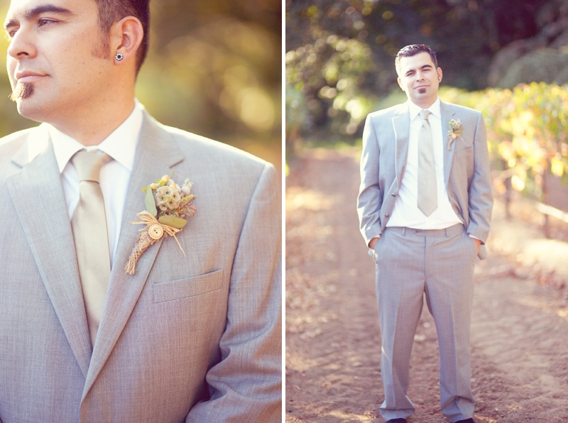 Colorful Rustic Eclectic California Wedding via TheELD.com