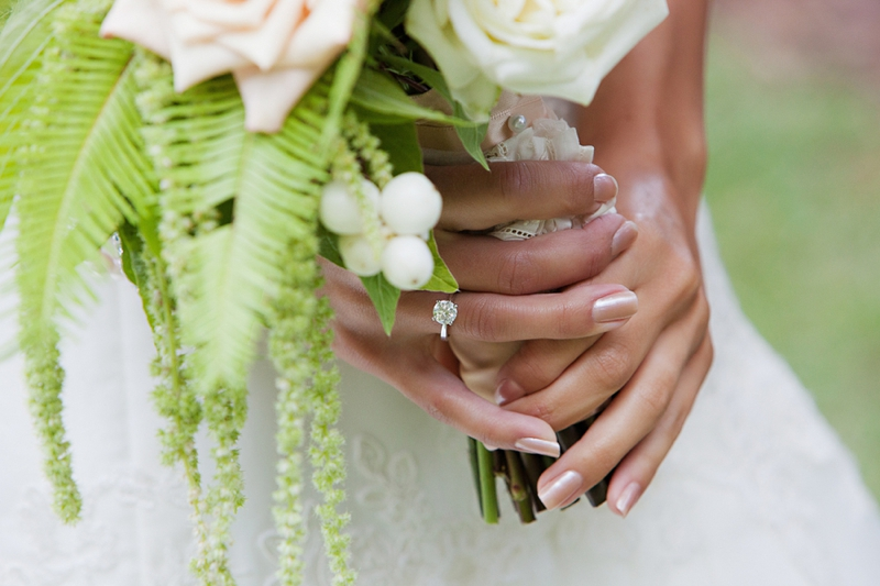 A Rustic Garden Wedding via TheELD.com