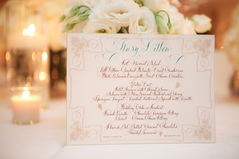 Classic Green & White Minnesota Wedding via TheELD.com