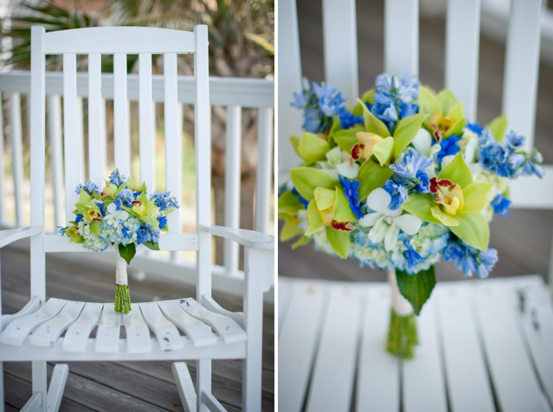 Rustic Chic Blue and Green Beach Wedding | Every Last Detail
