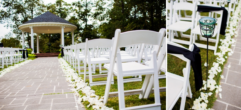 Black and White Classic North Carolina Wedding via TheELD.com