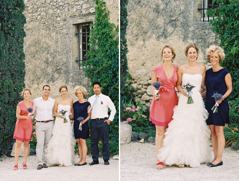 Rustic Lavender Southern France Wedding via TheELD.com