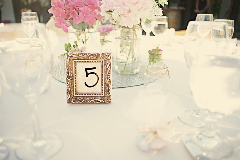 Pink and Mint California Vineyard Wedding via TheELD.com