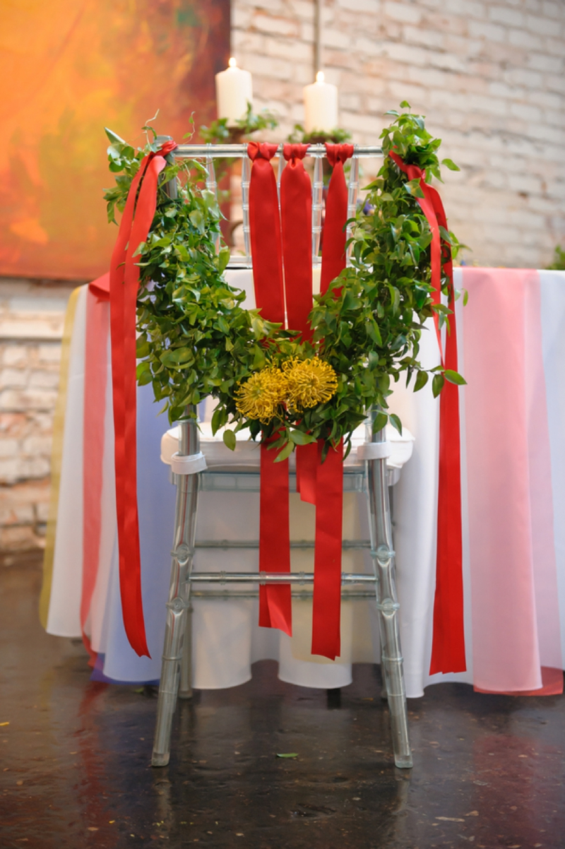 modern eclectic art inspired wedding ideas